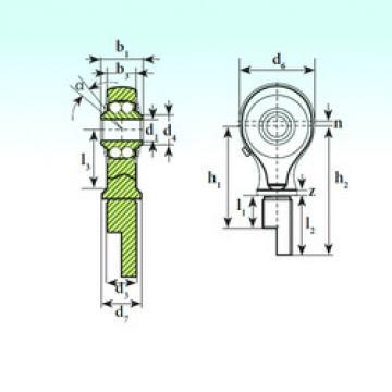 Bearing TSM 15-00 BB-E ISB