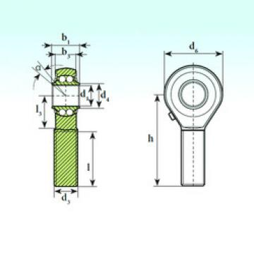 Bearing TSM 20 BB ISB
