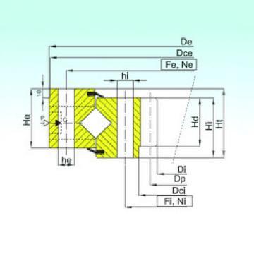 المحامل ZR1.25.0946.400-1SPPN ISB